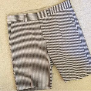 Crew Cuts Boys SeerSucker Summer Shorts Blue